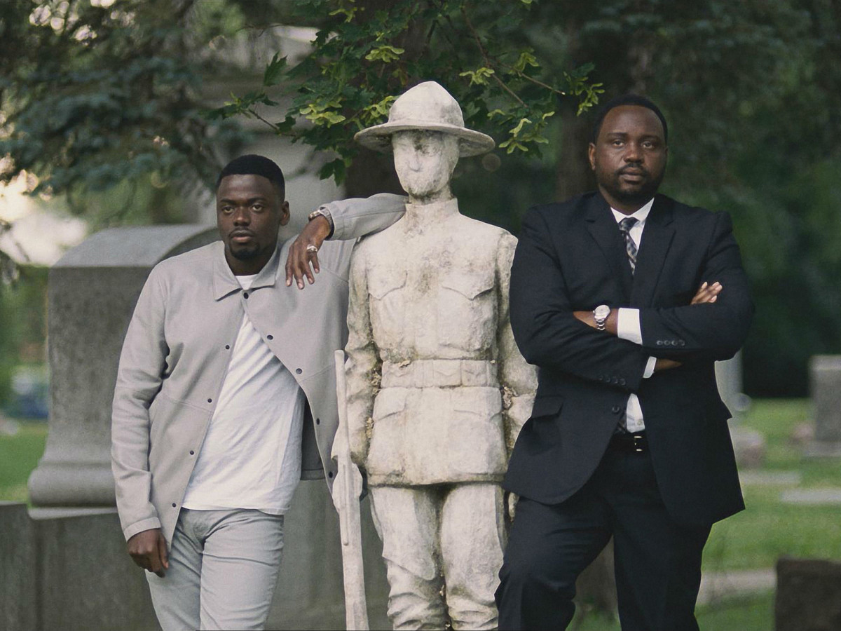 Daniel Kaluuya and Brian Tyree Henry in Widows