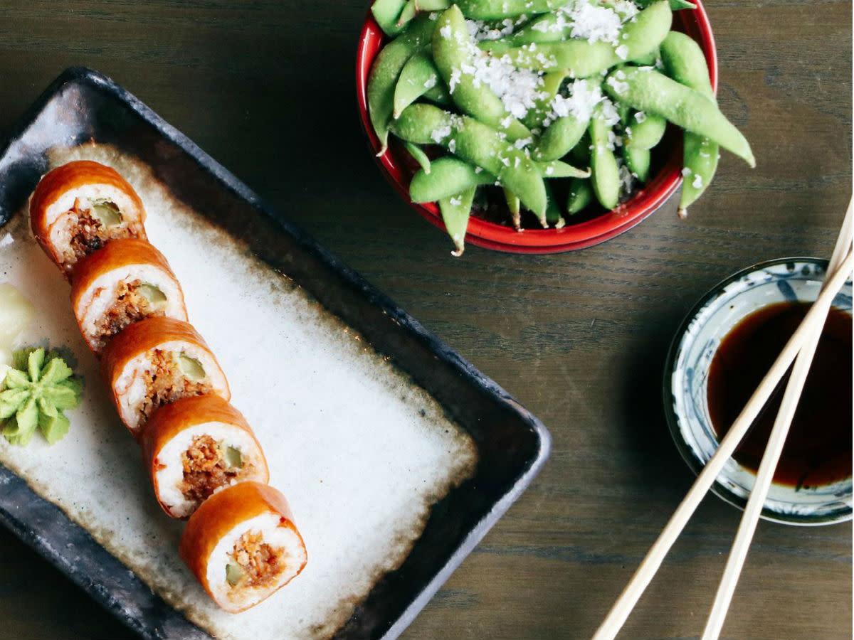Blue Sushi vegan