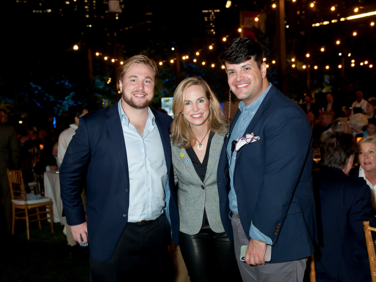 Paul Cooke III, Janie Cooke, and Jason Valdivia
