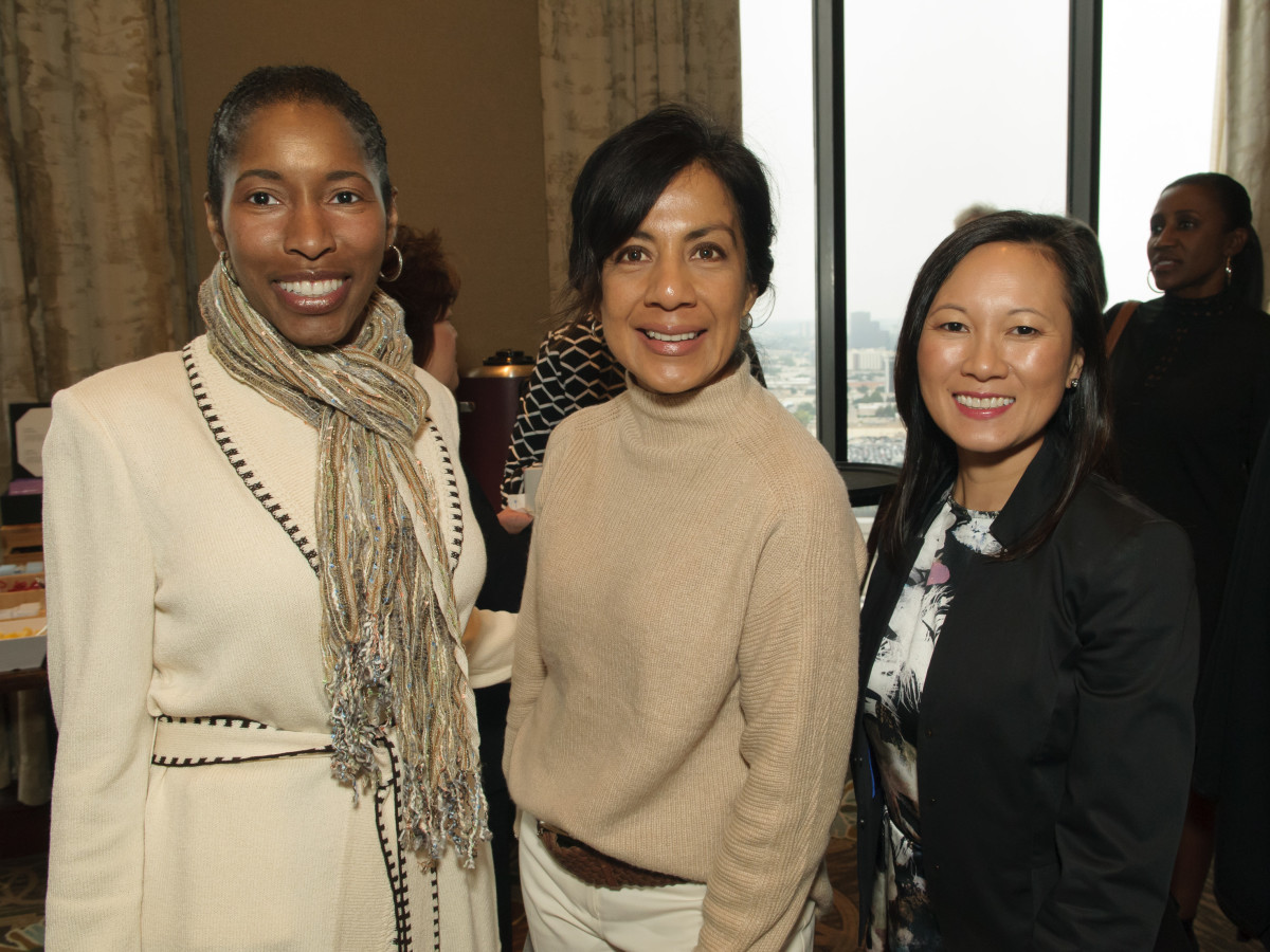 Wendy Harris, Iliana Brown, Thear Suzuki