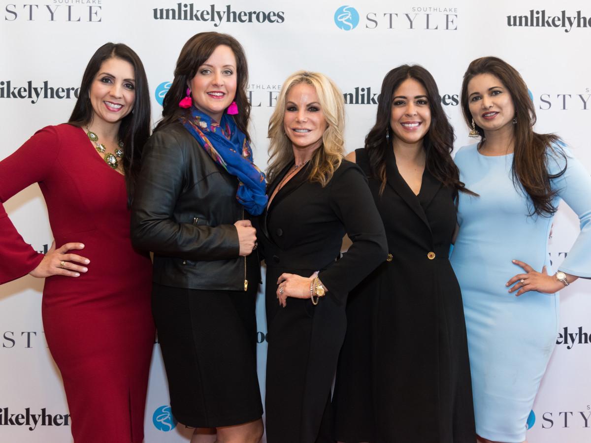 Lily Moore, Nicole Tait, Michelle Davis, Melanie Kelley, Sarah Kahn