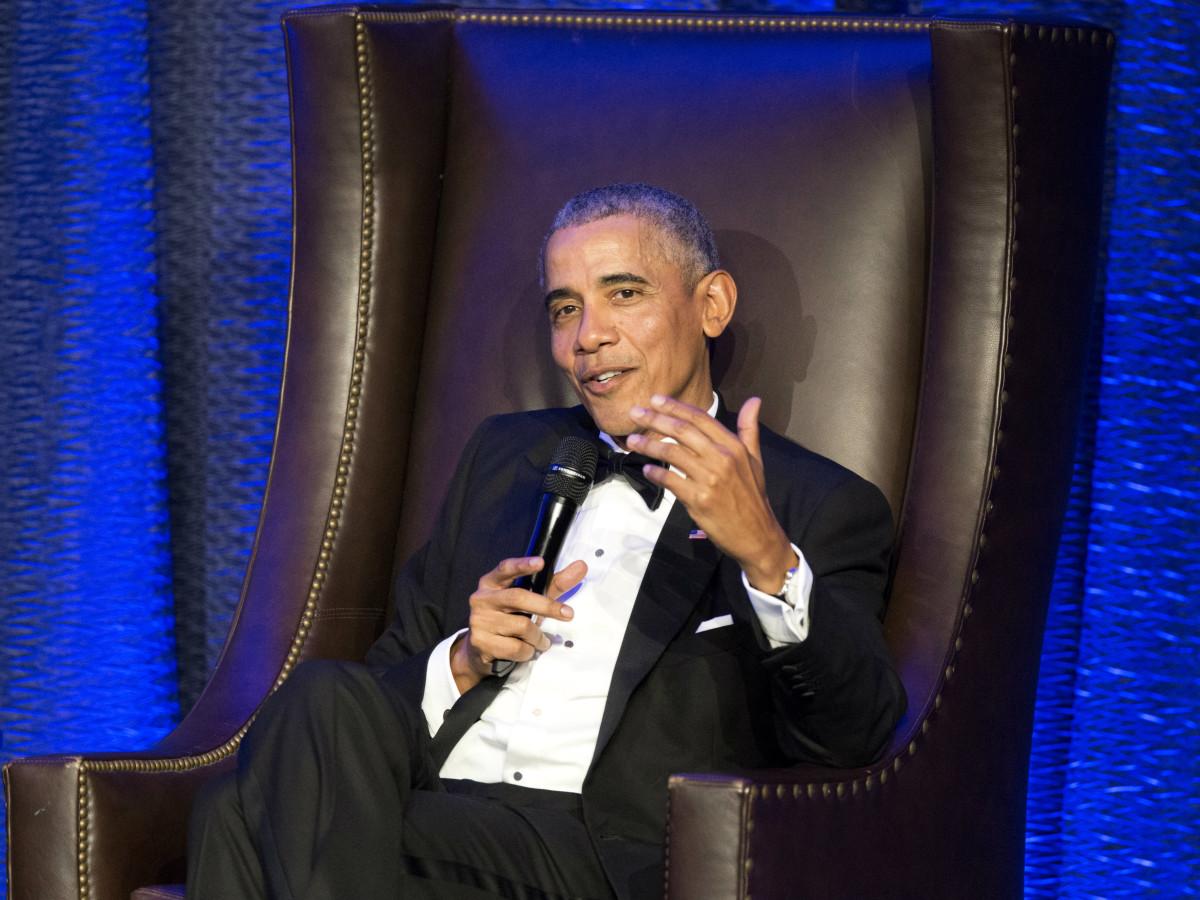 President Obama Rice Baker Institute Gala