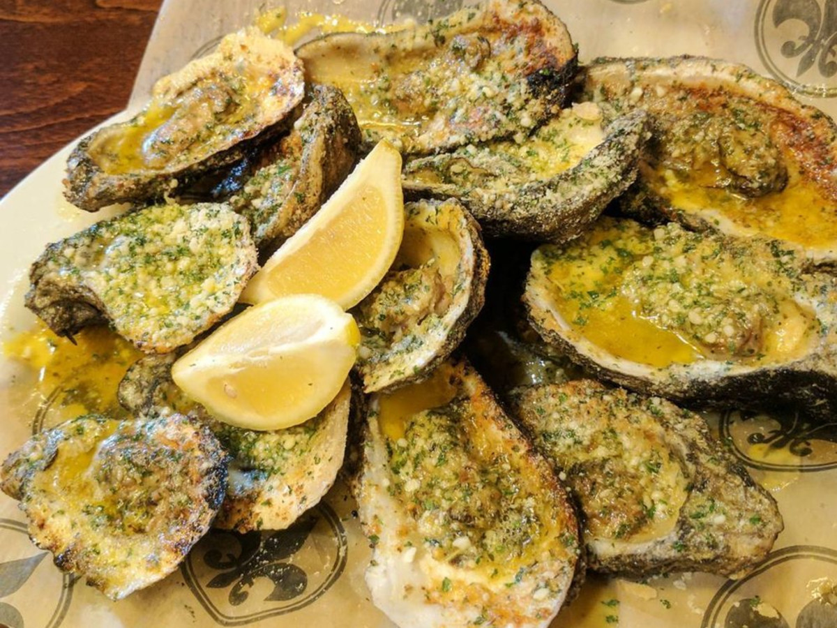 Neyow's char-grilled oysters