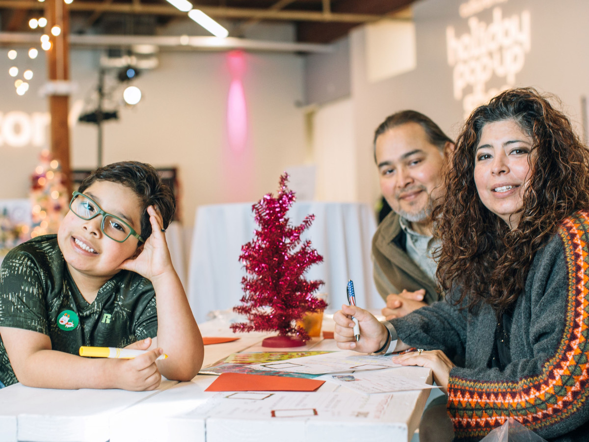 Paula, Ronin, Jose Tellez, CultureMap Holiday Pop-up Shop