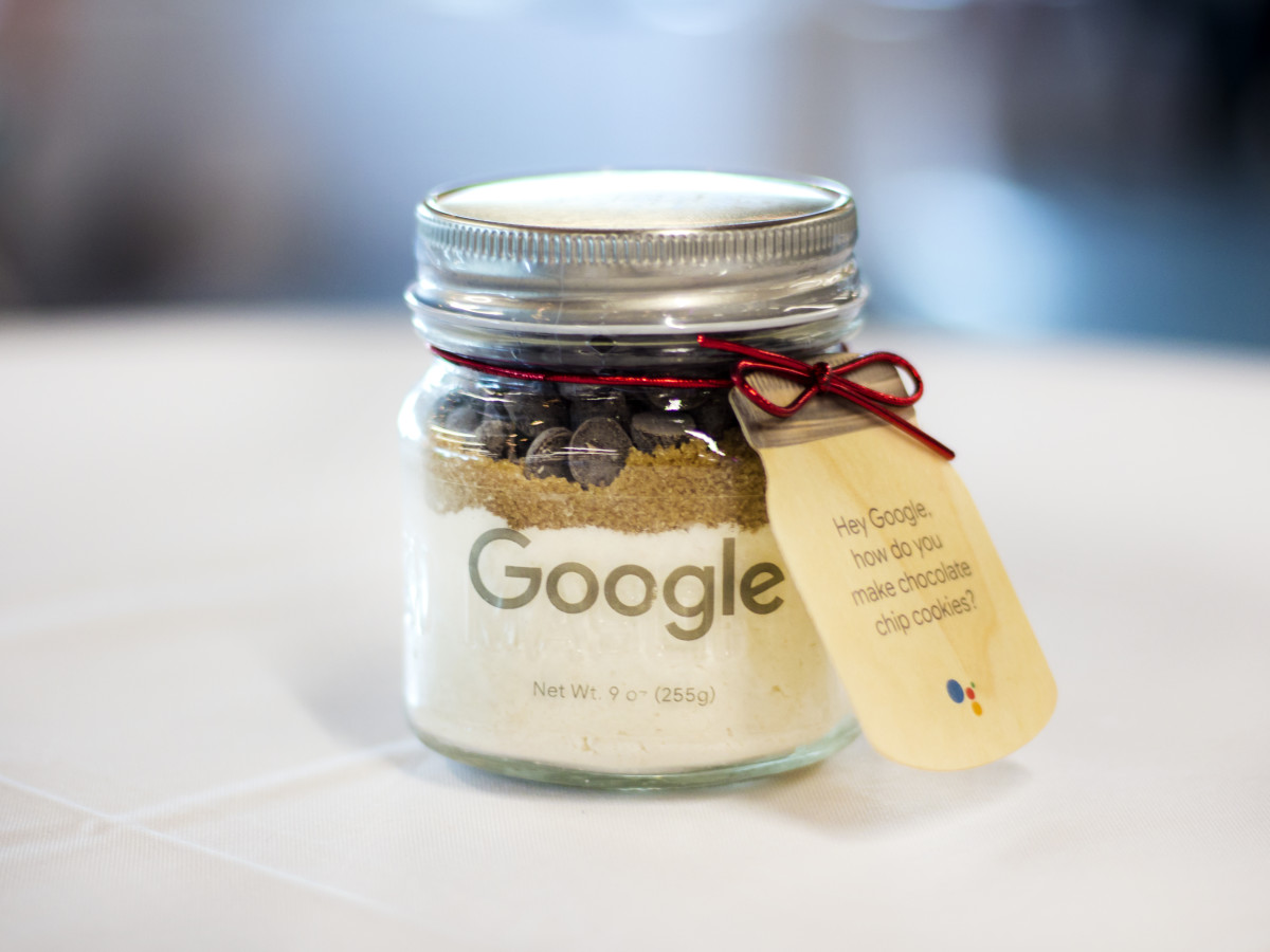 Google cookies in a jar
