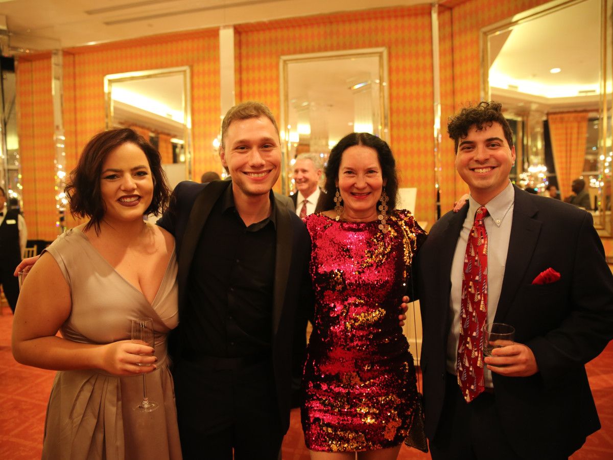 Heather Weirich, Michael Sherman, Gina Browning, Aaron Noble