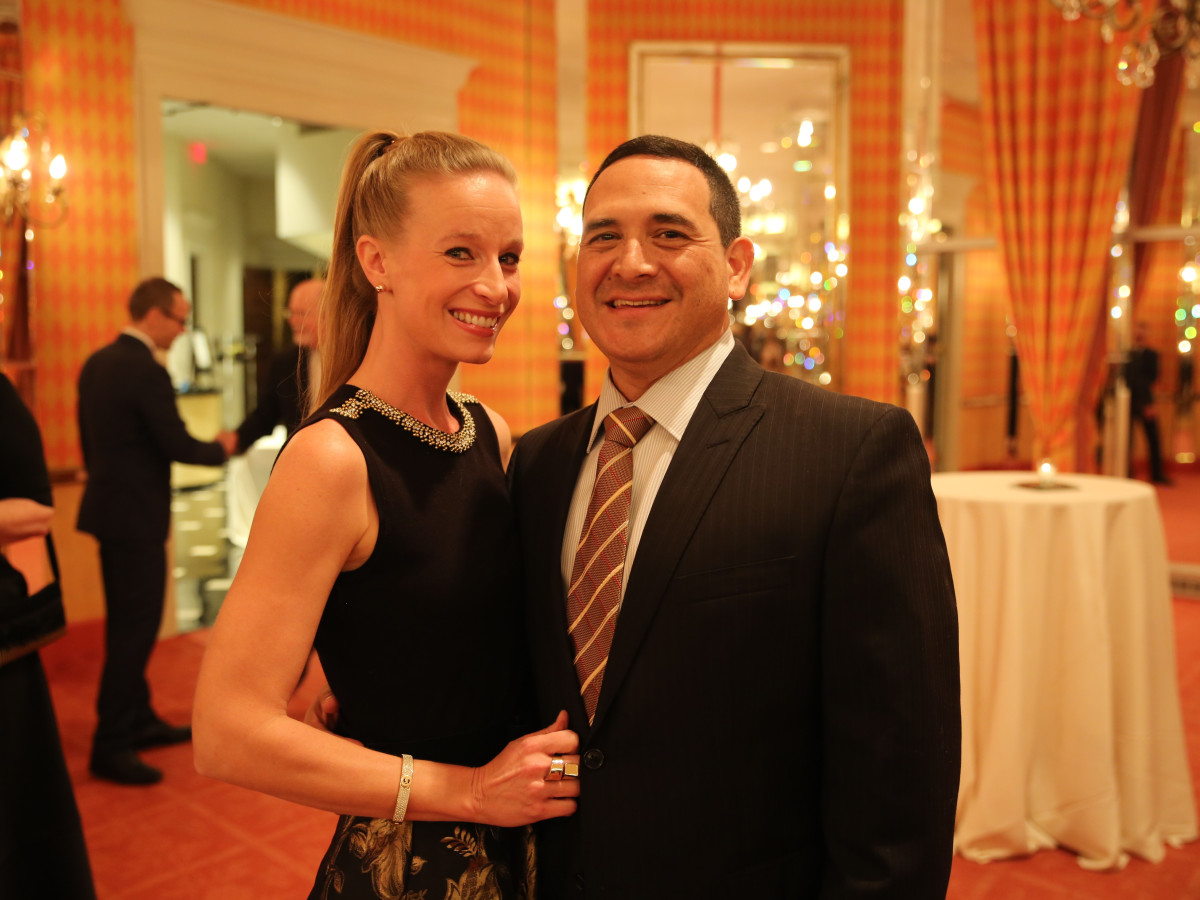 Cassie Dunn and Mike Martinez