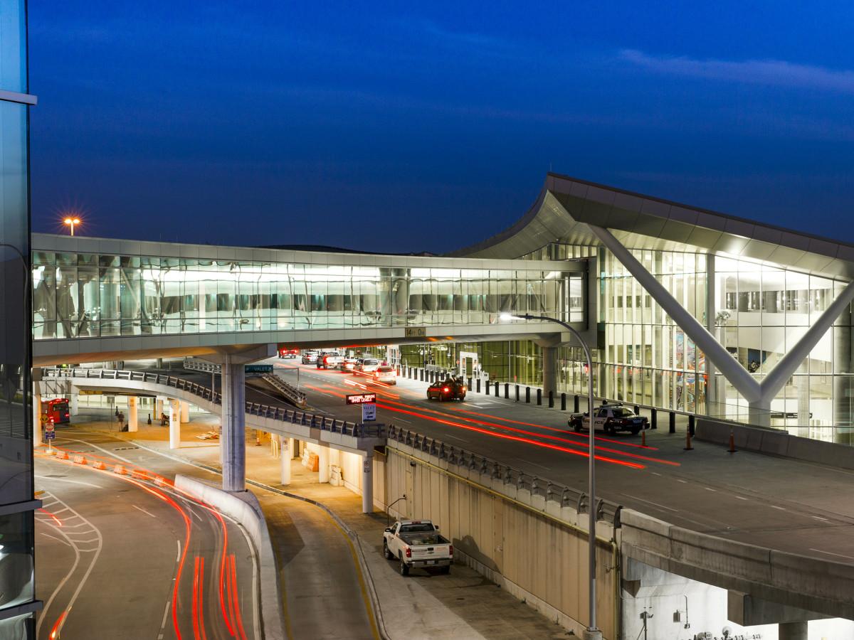 Hobby Airport Terminal exterior