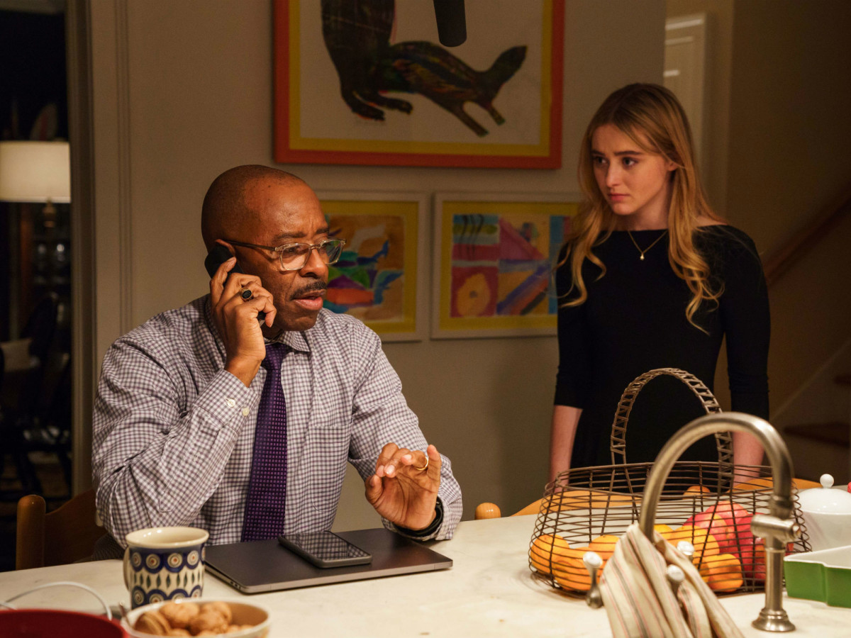 Courtney B. Vance and Kathryn Newton in Ben is Back