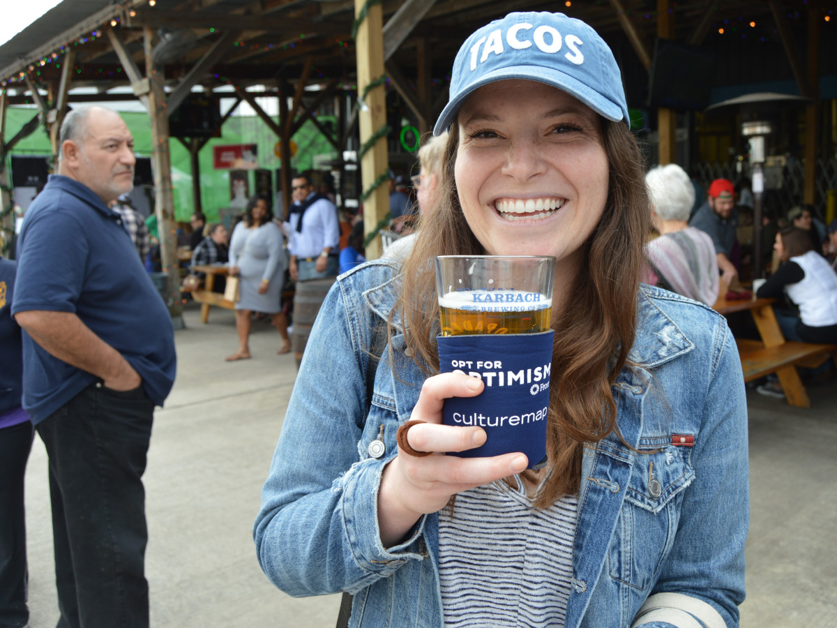Frost pop-up at Karbach Brewing Shop Local Market in Houston