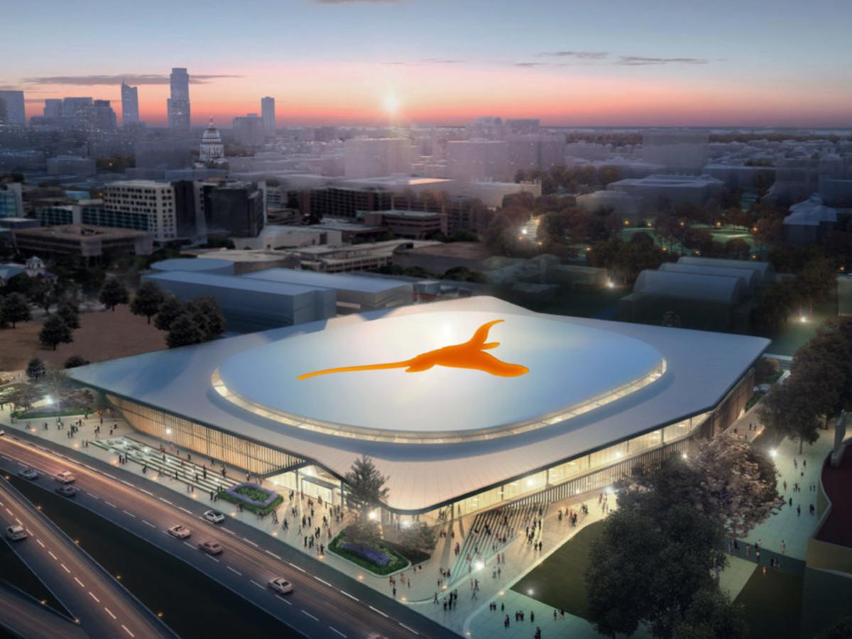 UT basketball arena university of texas rendering
