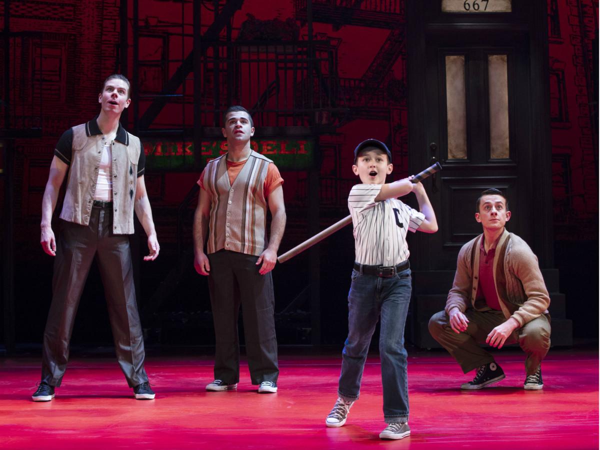 National tour cast of A Bronx Tale
