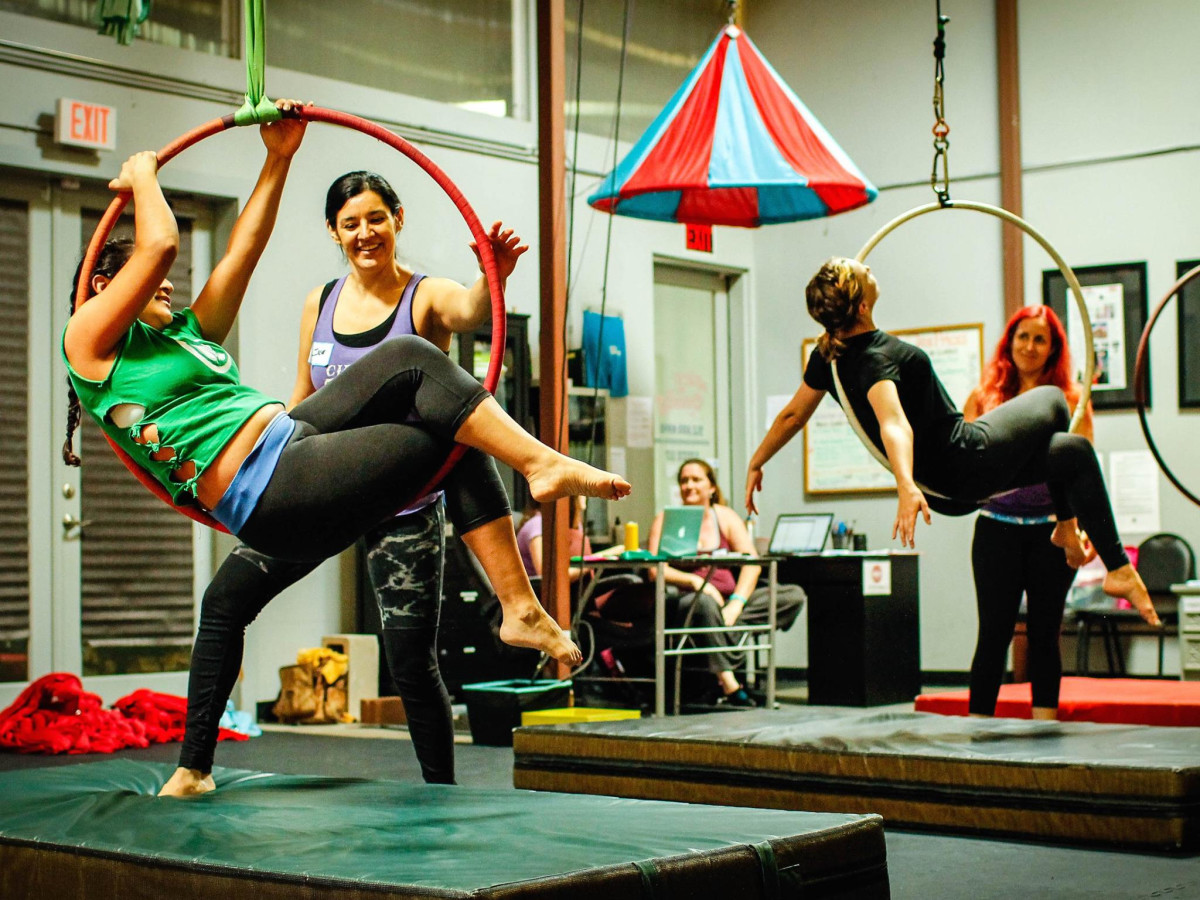 Sky Candy Austin exercise class