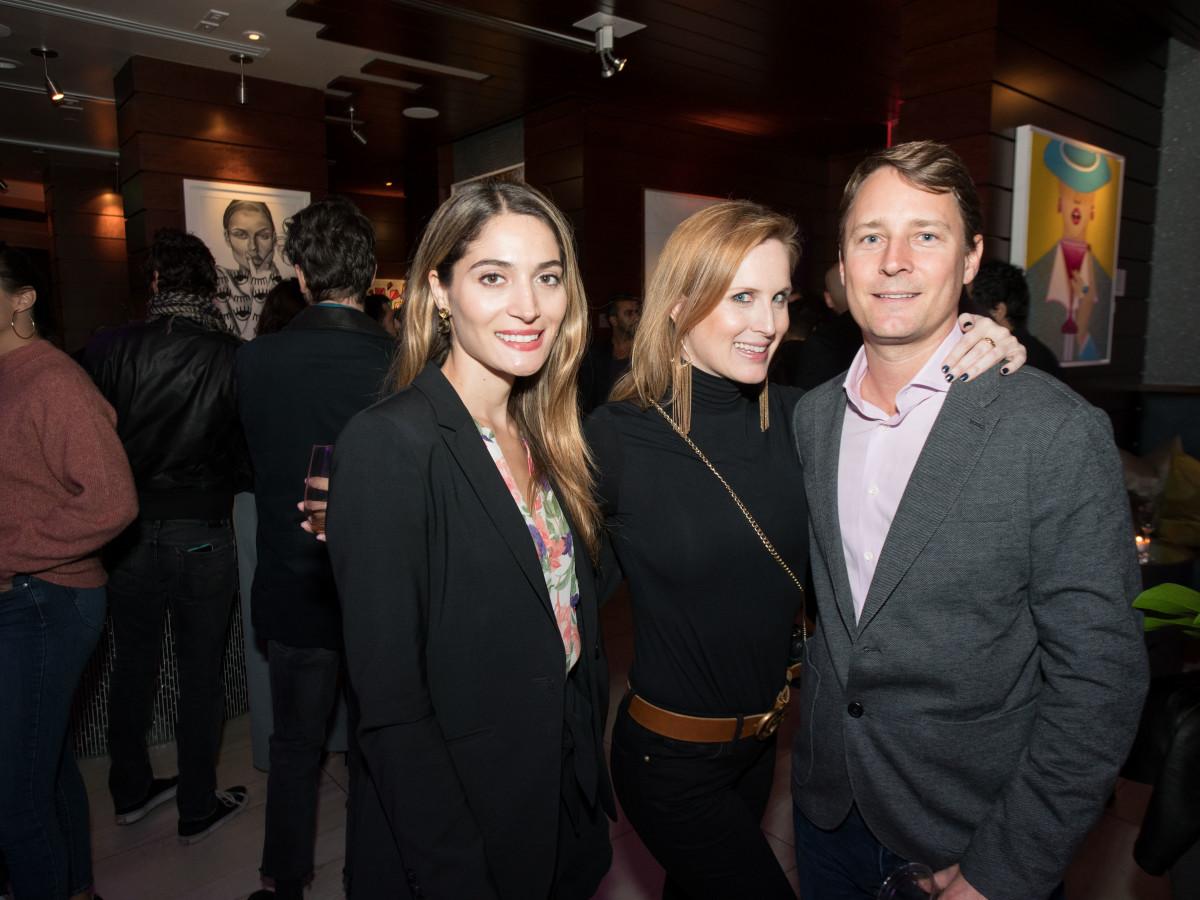 Carolina Velasco, Katie Jackson, Jeff Taylor