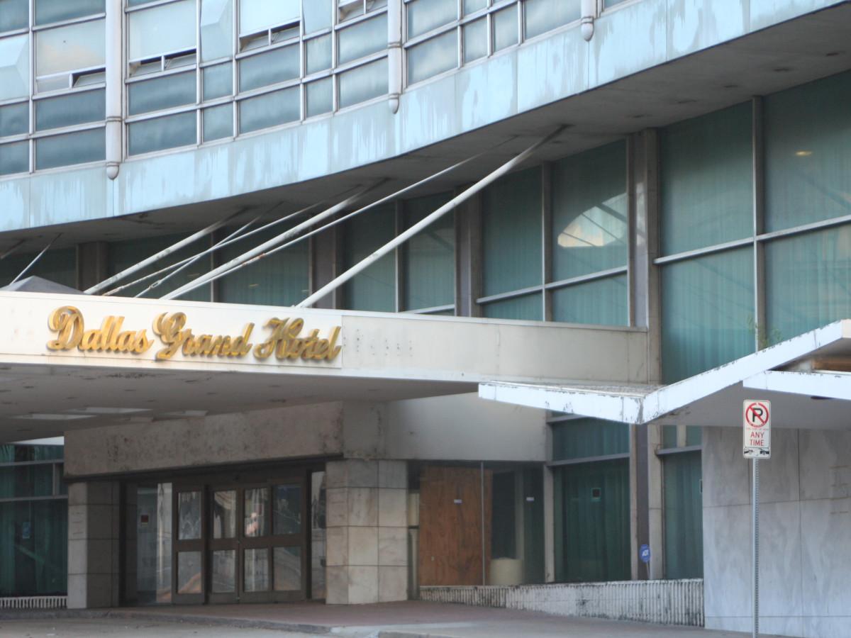 Statler hotel in mid 2000s