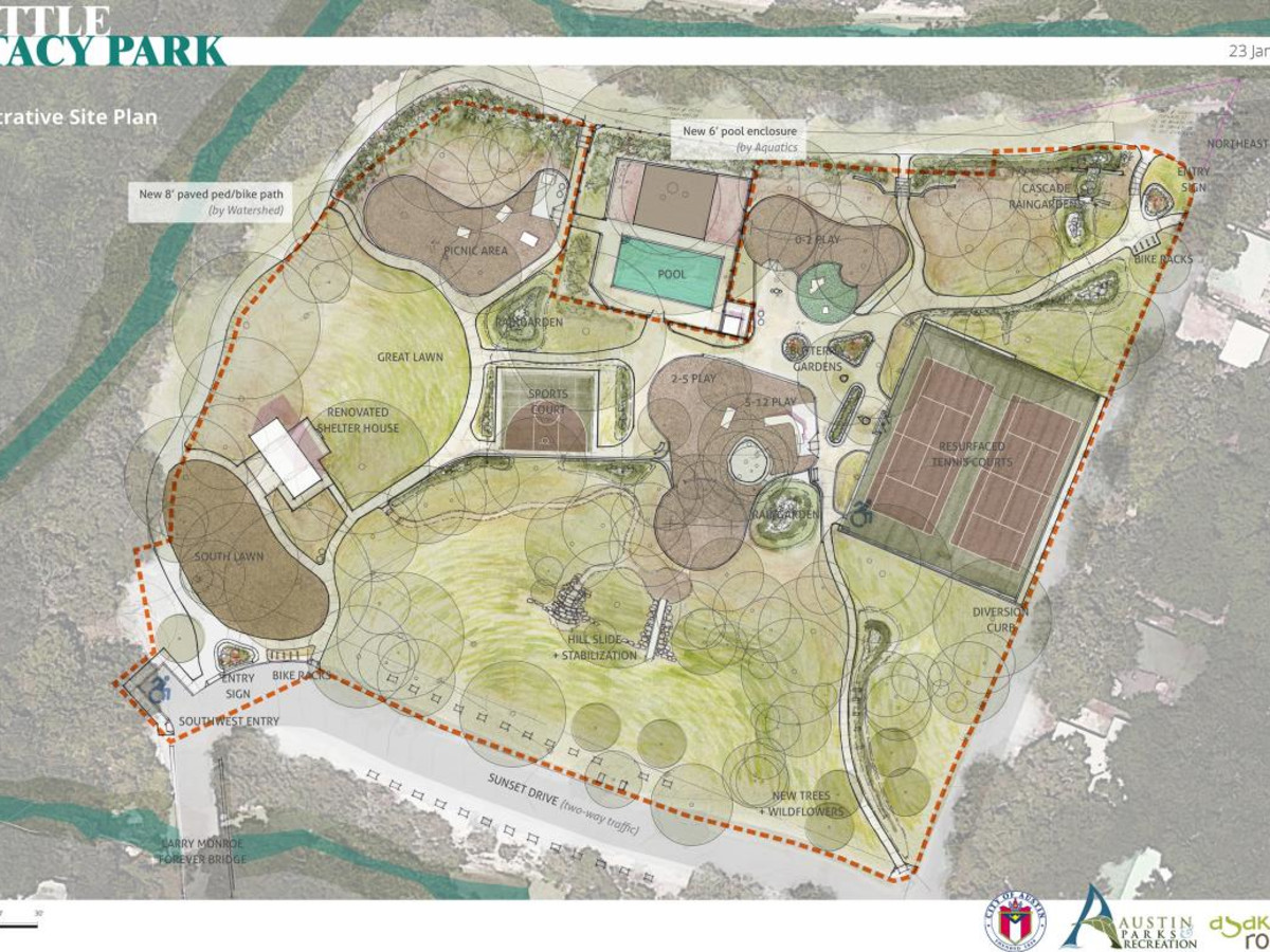 Little Stacy Park renovation plans project