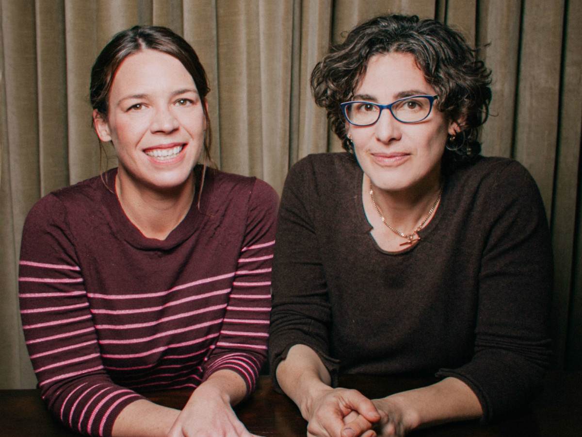 Julie Snyder and Sarah Koenig from Serial