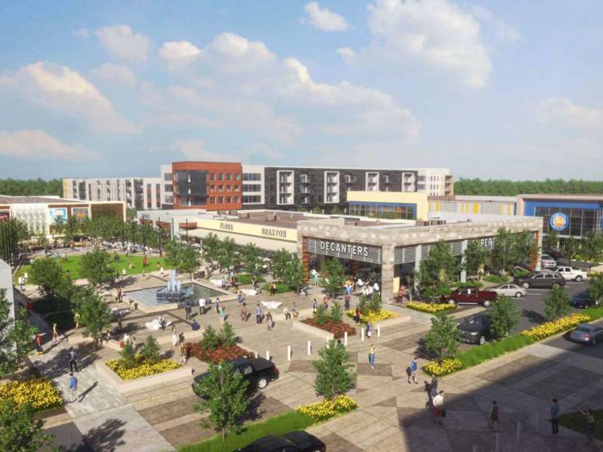 Metropark Square rendering