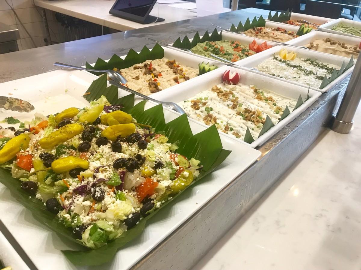 Fadi's Museum District salad bar