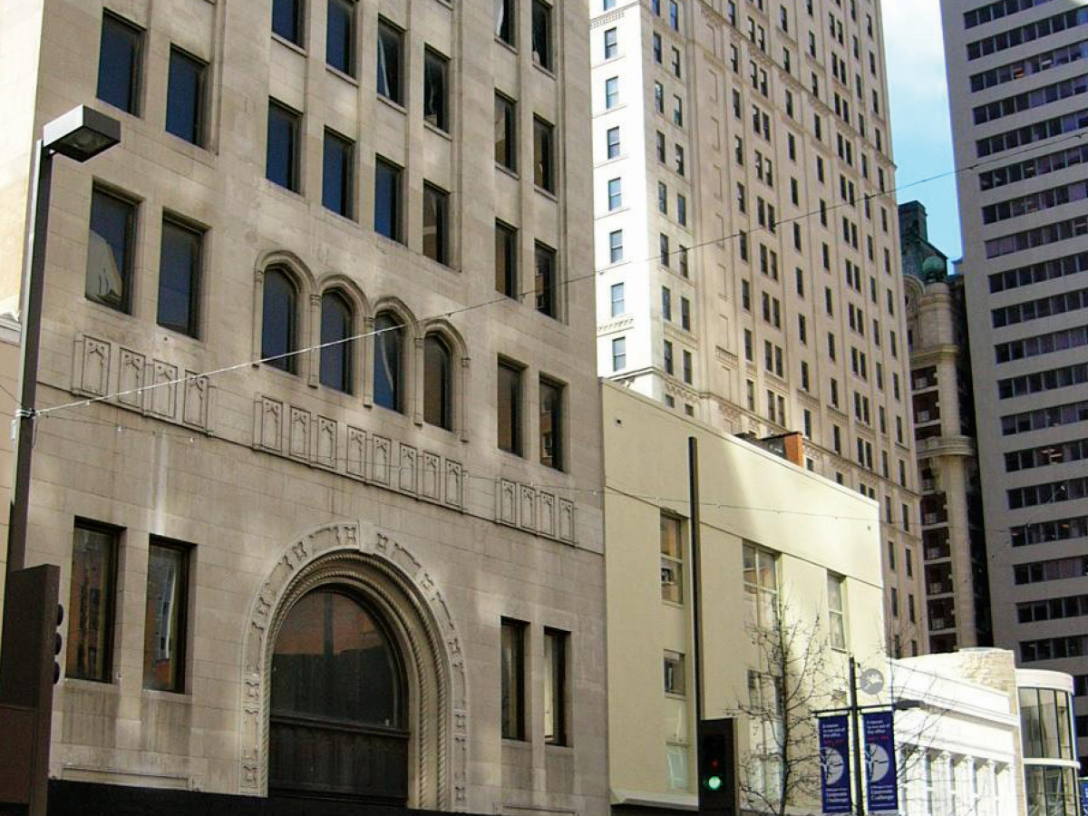 The Joule hotel in late 1990s