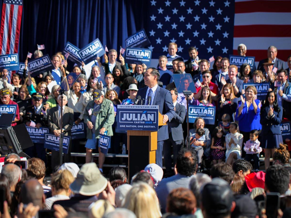Julian Castro announcing presidential race 2020