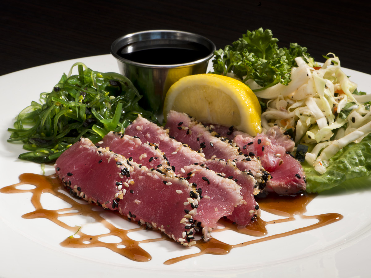 Ahi tuna from Olympia Grill