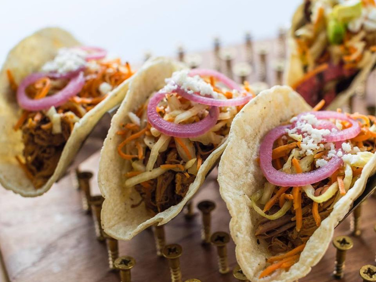 Righteous Foods tacos