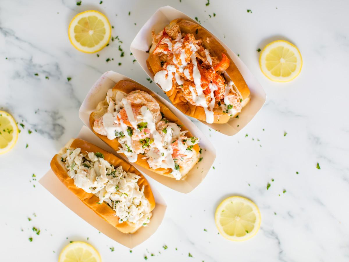 The Dock lobster rolls