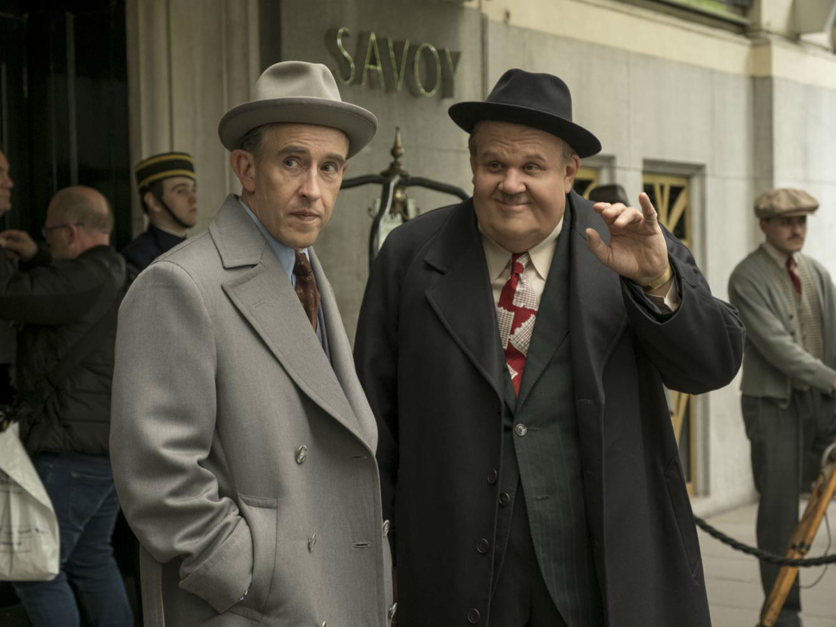 Steve Coogan and John C. Reilly in Stan & Ollie