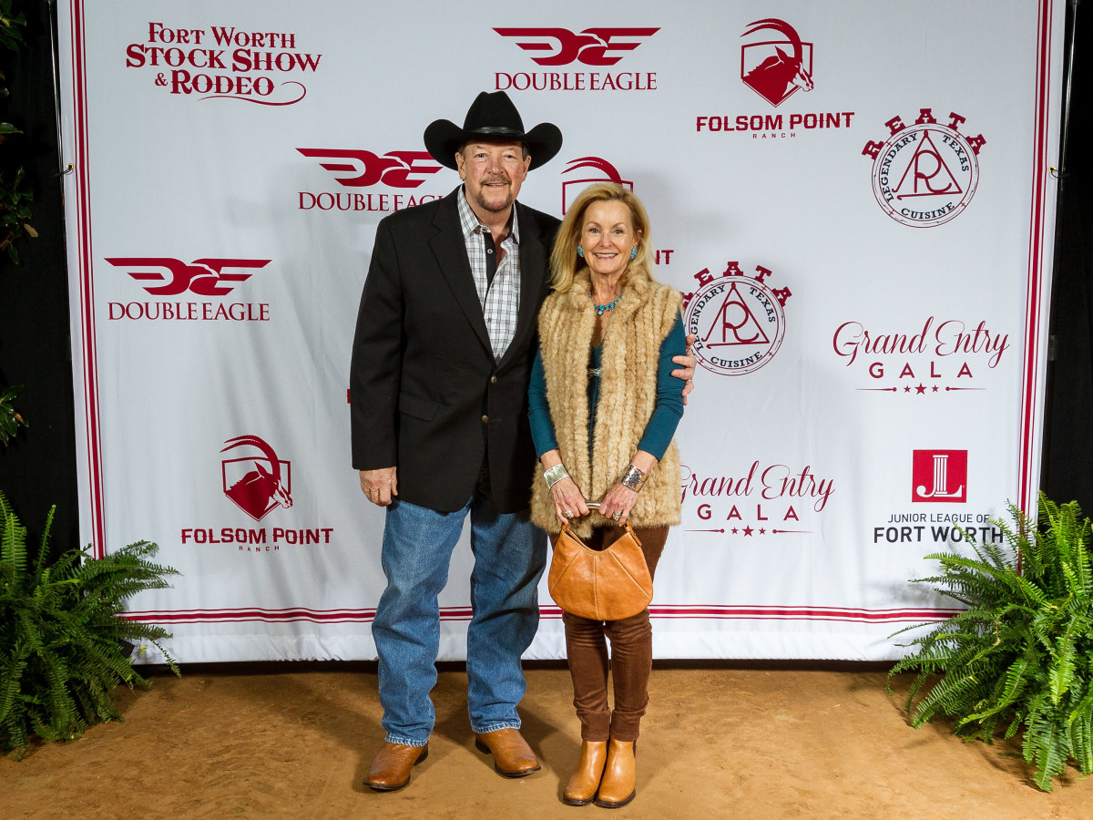 Fort Worth Stock Show Grand Entry Gala Bill Landreth, Gail Landreth