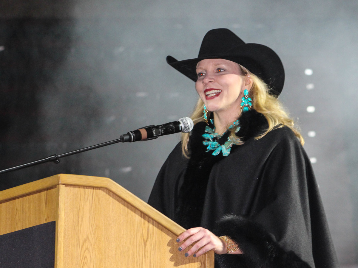 Fort Worth Stock Show Grand Entry Gala Carrie Cappel