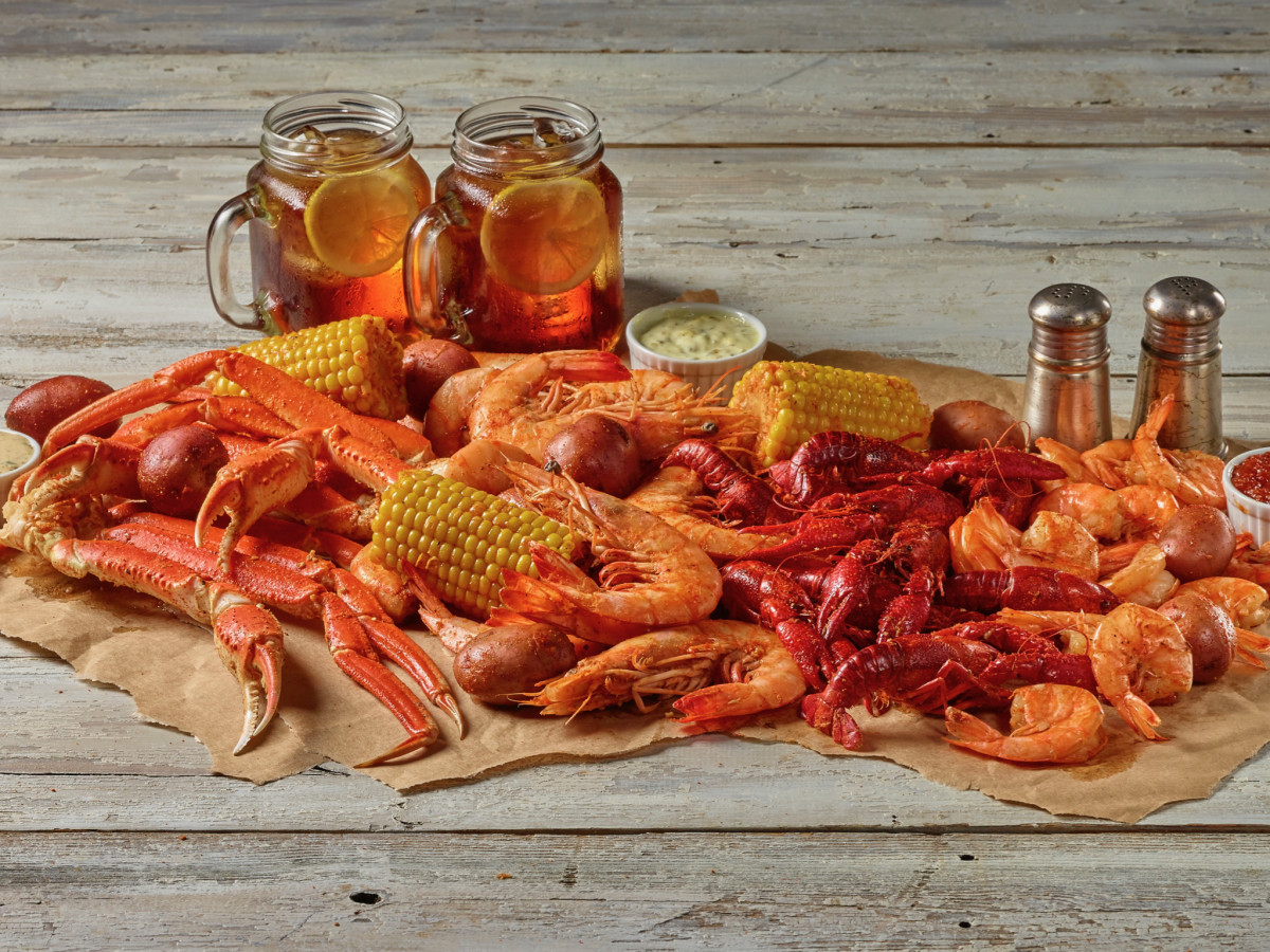H-E-B True Texas Boil House seafood medley