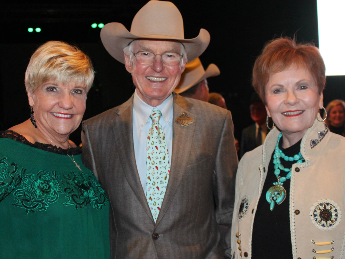 Fort Worth Stock Show Grand Entry Gala Mayor Betsy Price, Ed Bass, Congresswoman Kay Granger