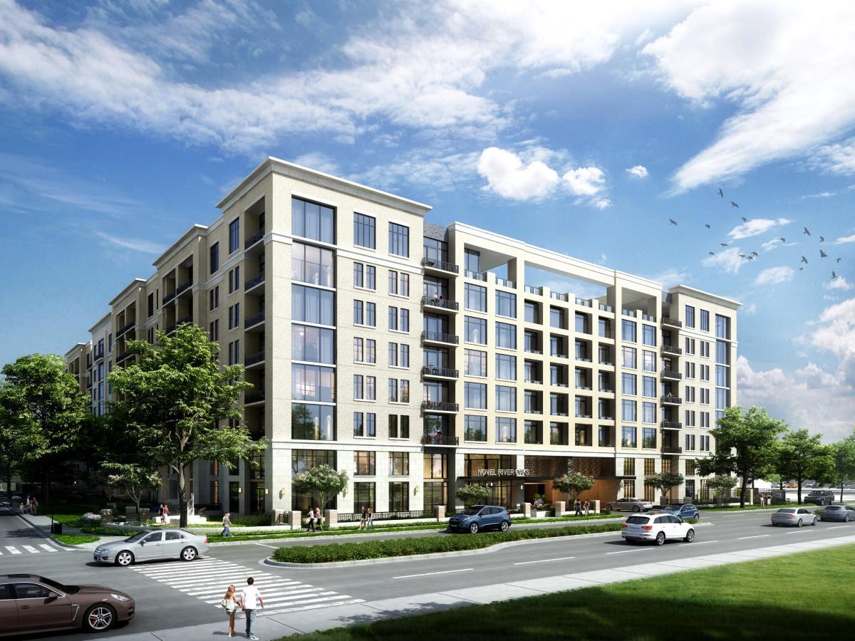 Novel River Oaks mixed-use development apartments