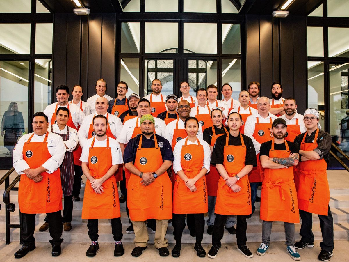 The Truffle Masters 2019 chefs