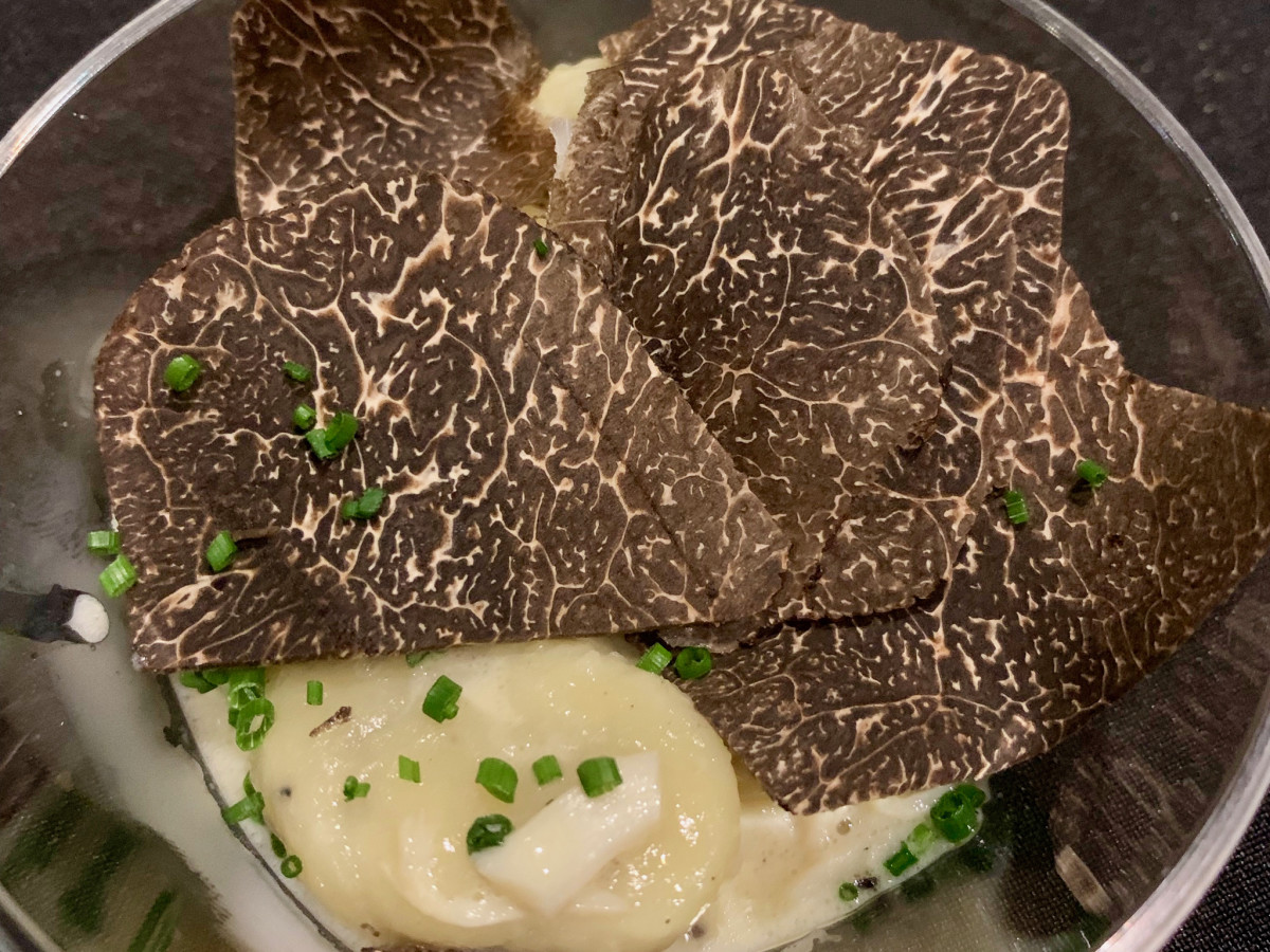 The Truffle Masters 2019 Eunice blue crab ragu