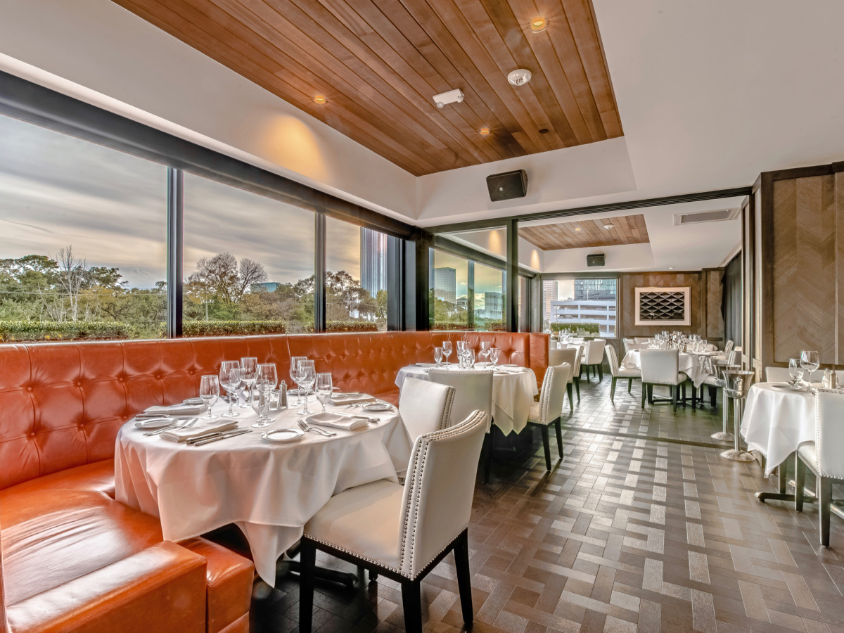 Steak 48 private dining room Construction Concepts