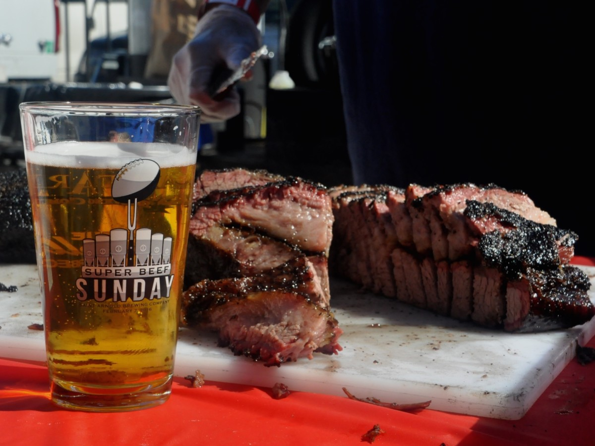 Houston BBQ Festival Saint Arnold Super Beef Sunday