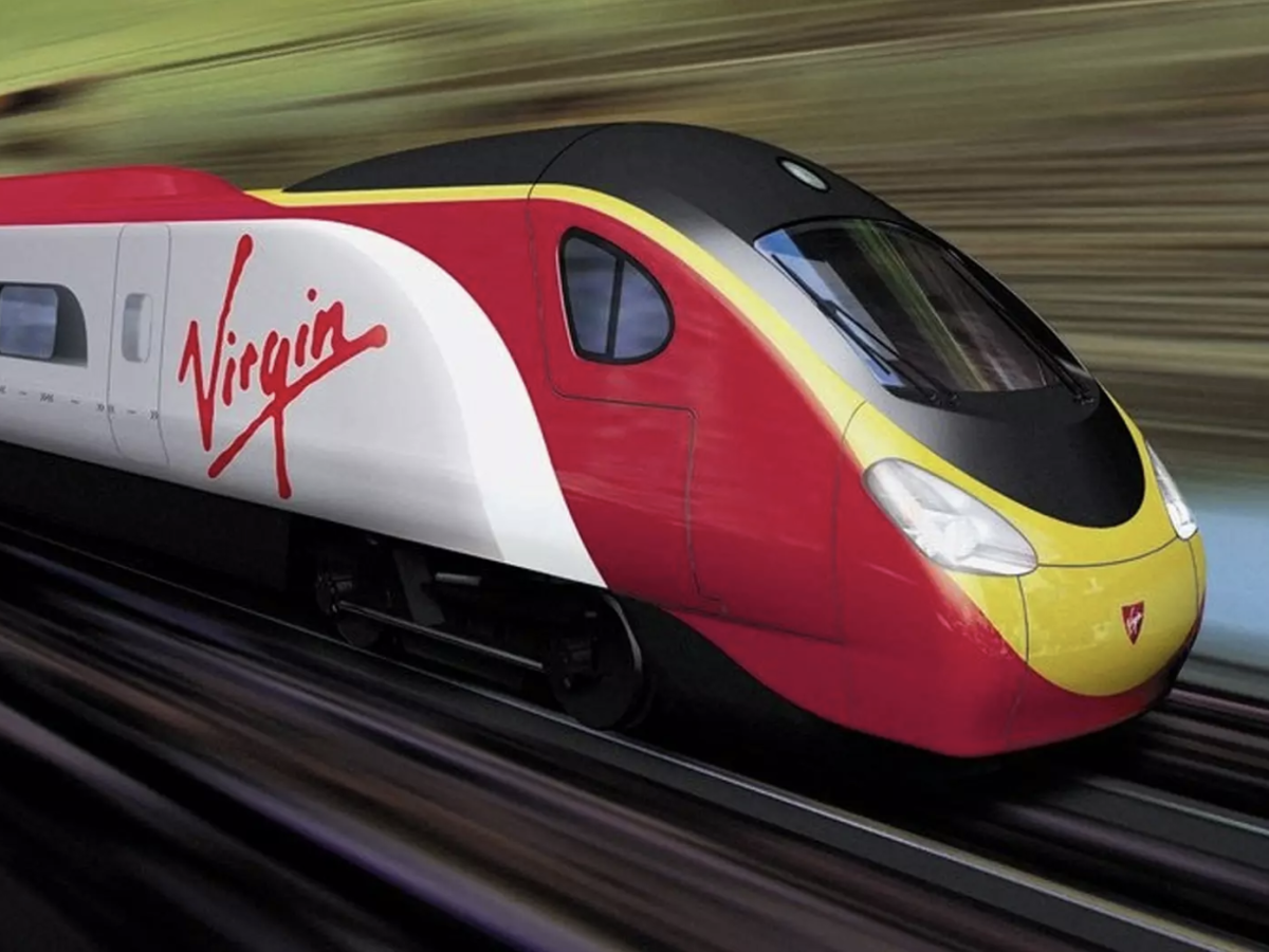 Virgin USA Train
