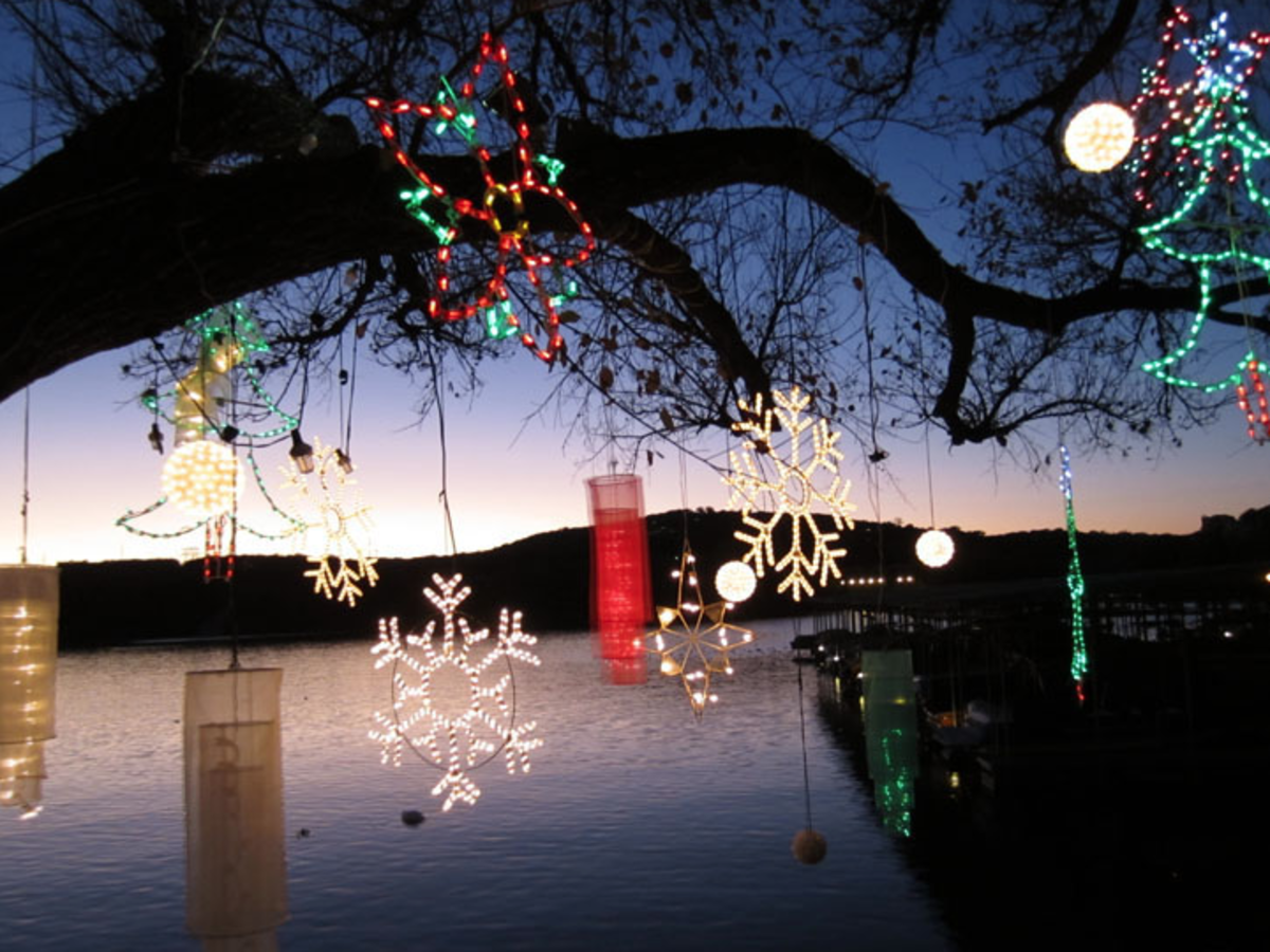 "Austin Poll: Precision camera photo contest: ""Lights and the Lake"" Emel Guldgan_Austin"