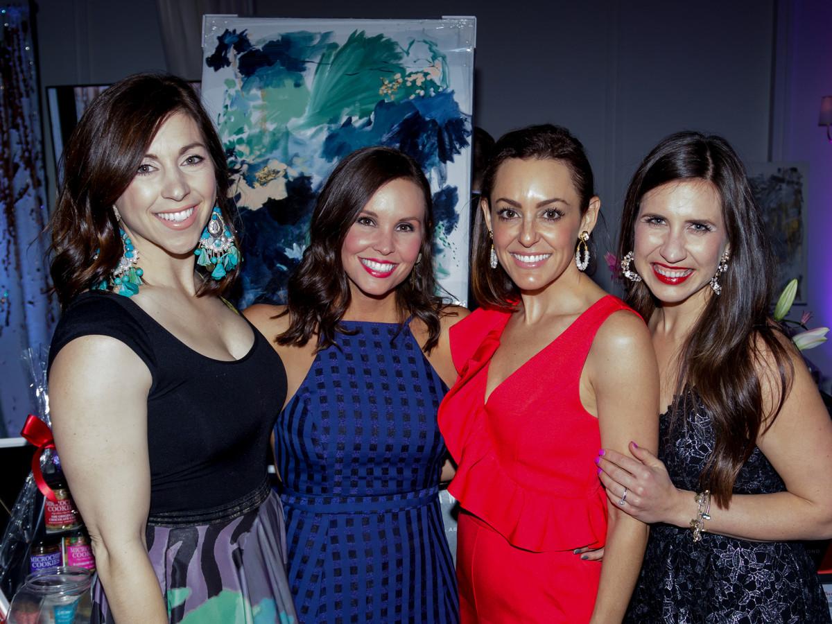 Nicole Stickane, Kiley Puckett, Gina Williams, Emily Hildebrand