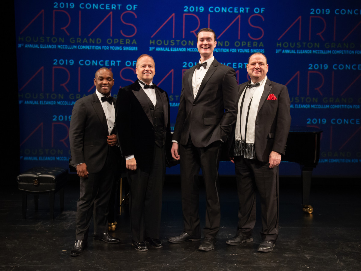 Concert of Arias-Lawrence Brownlee, Patrick Summers, William Meinert, Perryn Leech
