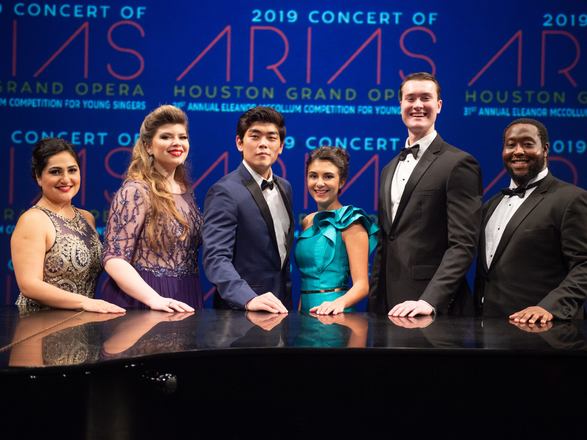 Concert of Arias: Yunuet Laguna, Katherine DeYoung, William Guanbo Su, Elena Villalón, William Meinert, Nicholas Newton