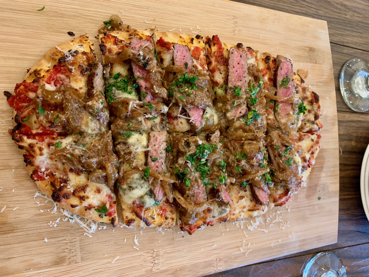 2840 at Dukessa NY strip flatbread