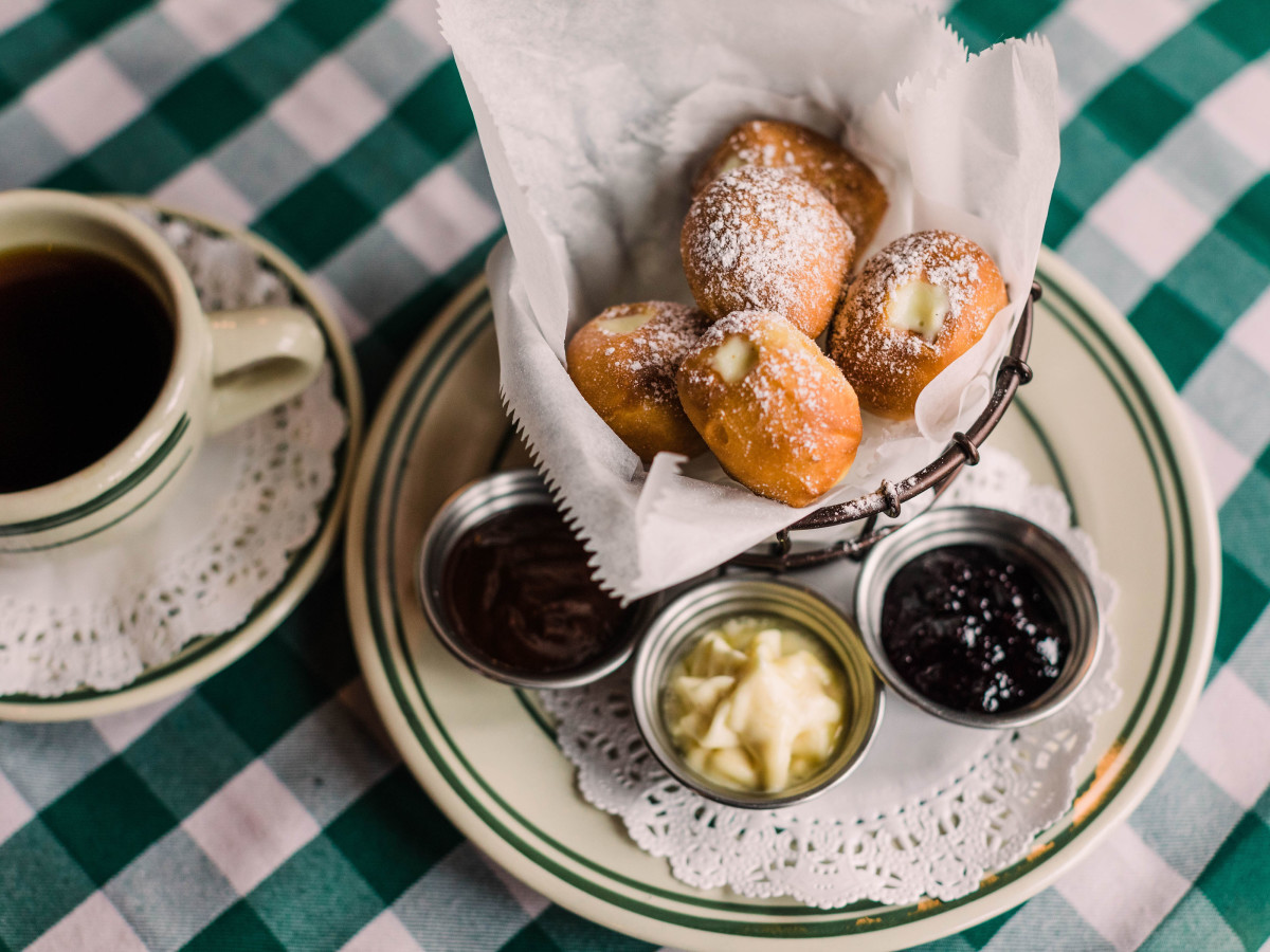 Sweet beignets basket