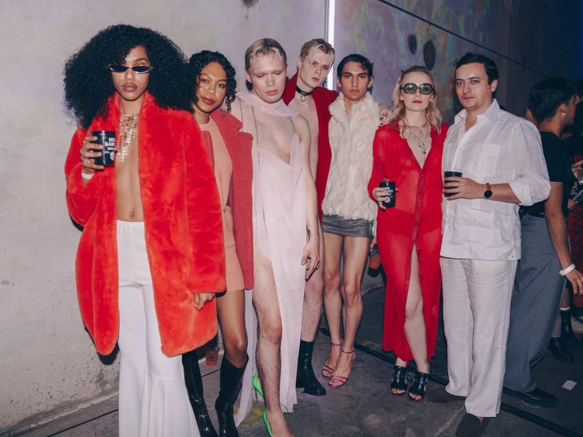 Diptych III Fashion Show at Austin School of Film