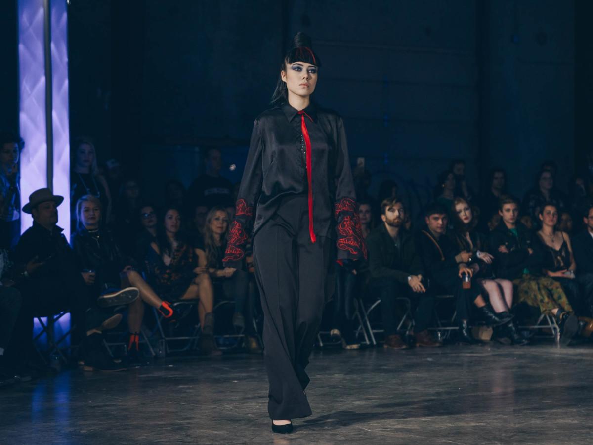 Diptych III Fashion Show at Austin School of Film Melissa Taylor