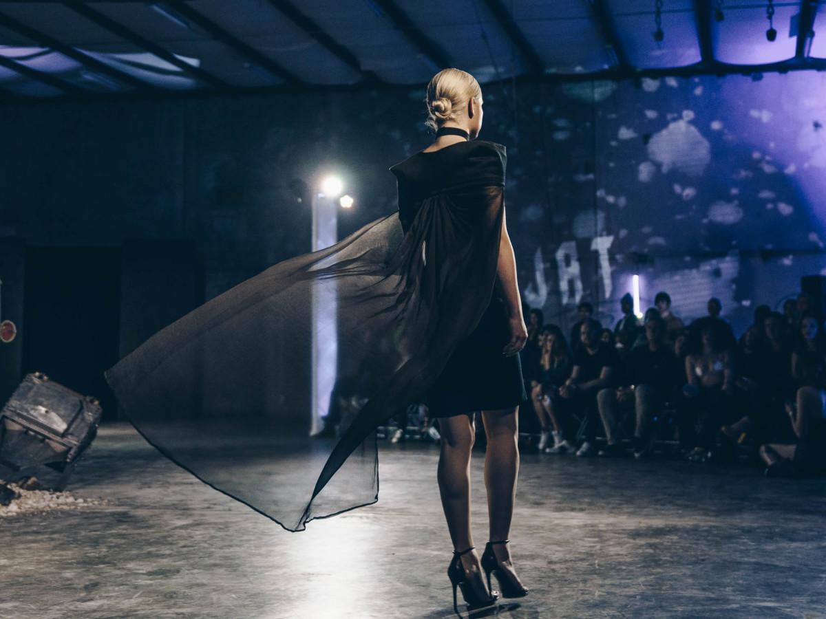 Diptych III Fashion Show at Austin School of Film Ida Behjat
