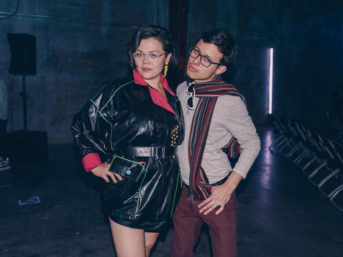 Diptych III Fashion Show at Austin School of Film Elle Gagnon Micah Torres