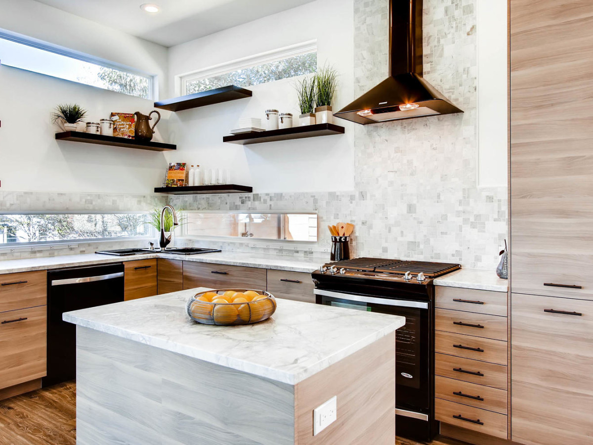 Kitchen remodeled by Shay Millheiser